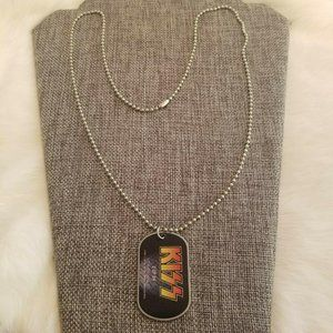 Jewelry - Kiss 2010 Dog Tag Necklace 1870